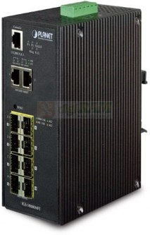 Planet IGS-10080MFT 8-Port Managed Switch