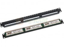 "Patch panel A-LAN PK-U5-1 (1U; 19""; kat. 5e; UTP; 24xRJ-45)"